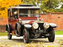 Rolls-Royce Silver Ghost 45-50 Open Drive Limousine by Barker _ Co