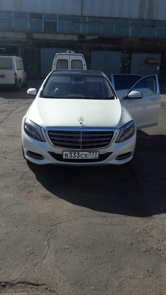 Прокат белого Maybach на свадьбу с водителем в Москве