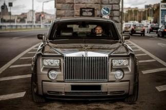 Роллс ройс в Москве с водителем
